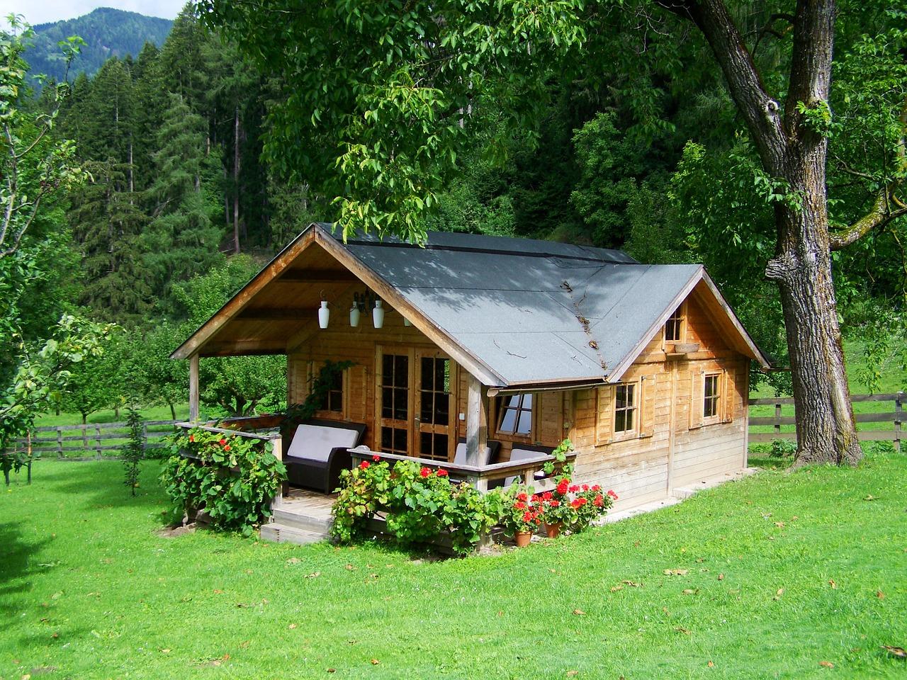 Holzhäuser   ein ökologischer trend