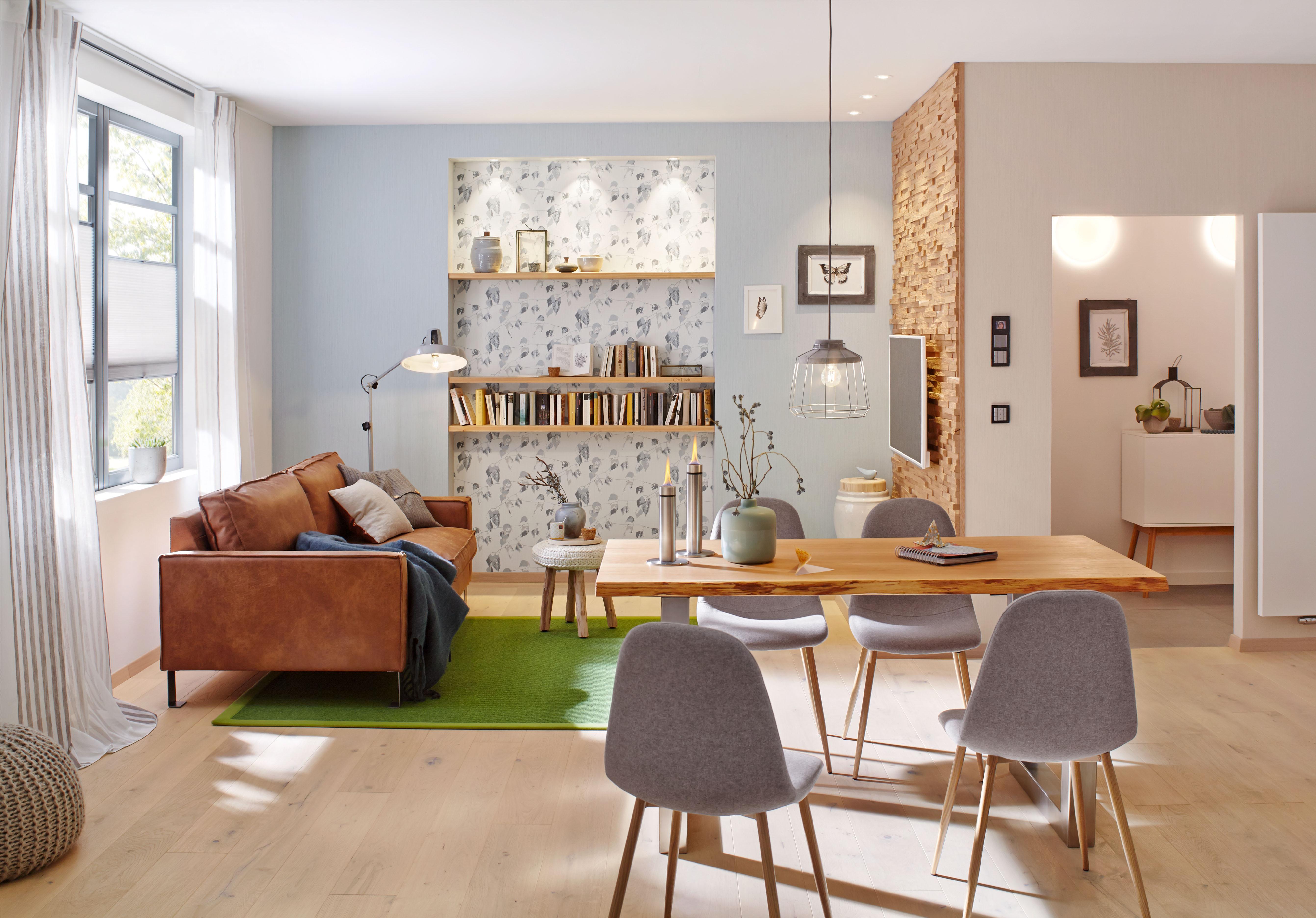 Smarte beleuchtungssysteme tauchen ihr zuhause in ein ganz - Beleuchtungssysteme wohnzimmer ...