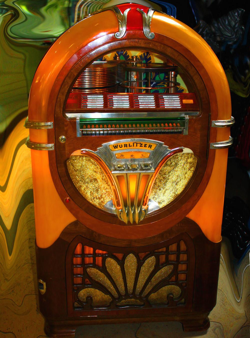 Mehr Flair durch eine Jukebox