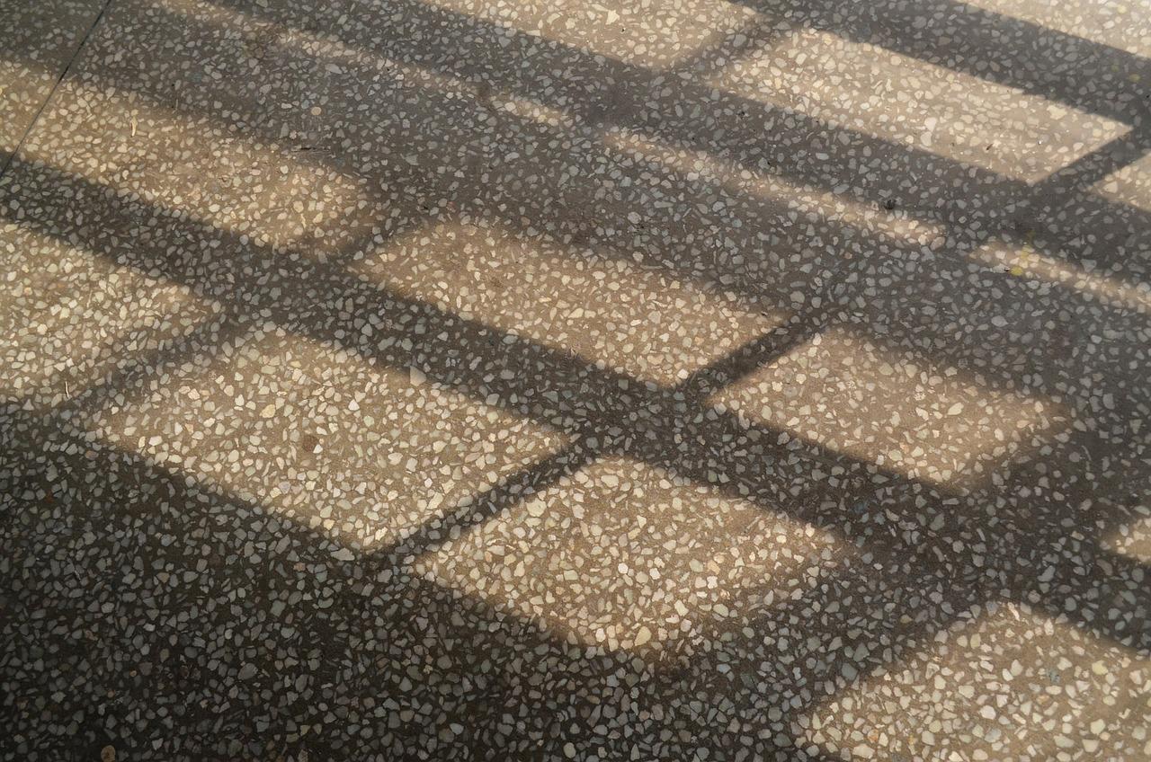 Steinteppich – Terrazzoboden