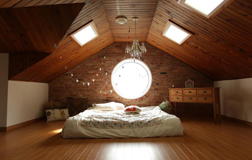 Wunderbar Ein Kinderzimmer Unterm Dach