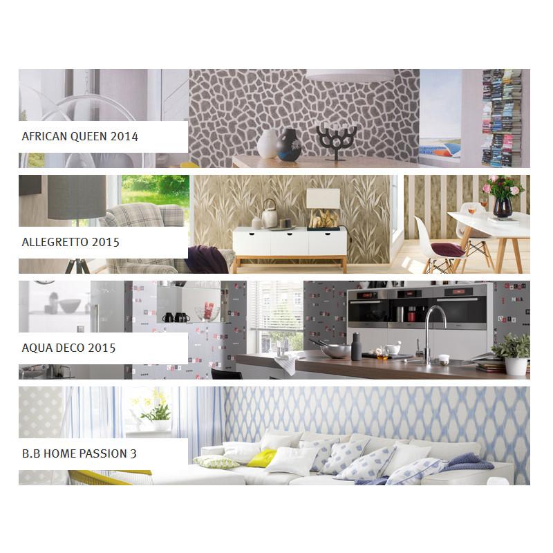 Rasch Designtapeten Kollektionen 2015 / 2016