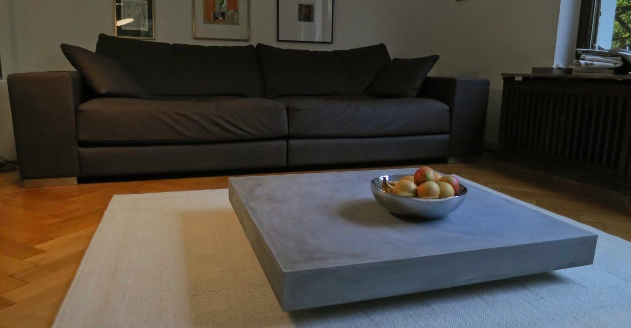 m bel aus beton design zwischen masse und. Black Bedroom Furniture Sets. Home Design Ideas