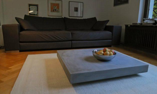 Möbel aus Beton –  Design zwischen Masse und Schwerelosigkeit