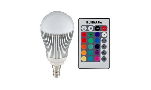 Technaxx RGB multicolor LED Lampe