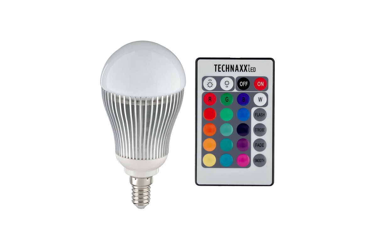 Technaxx RGB multicolor LED Lampe