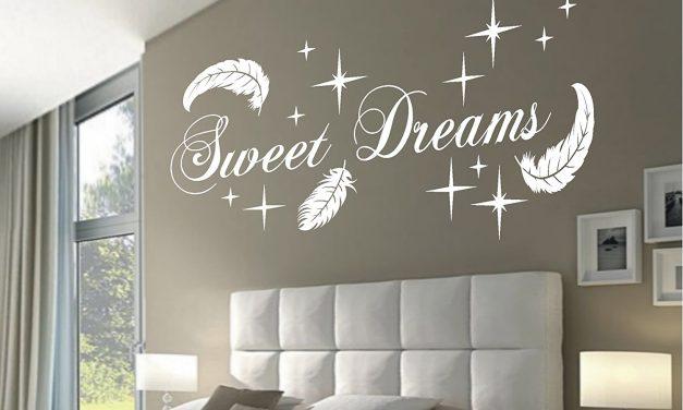Schöne Träume mit dem HomeTattoo Wandtattoo Sweet Dreams