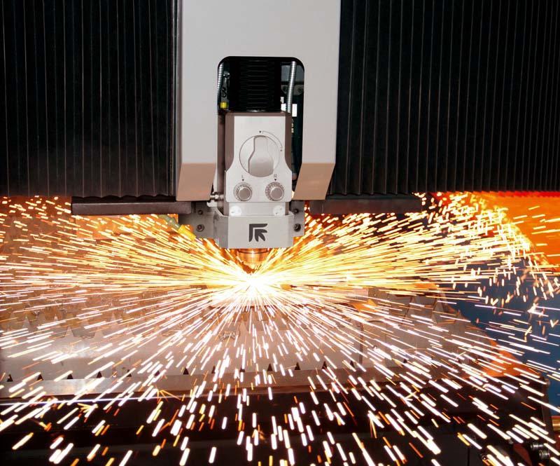 Modernes Trennen dank Laserschneiden