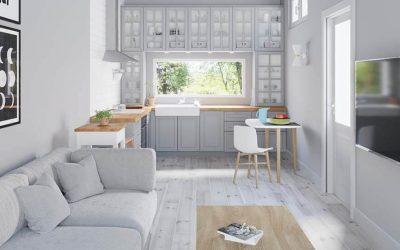 Die besten Tipps und Tricks um kleine Räume ideal zu nutzen