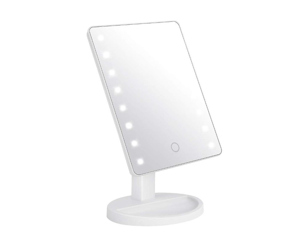 Schminkspiegel mit 16 LEDs Beleuchtung