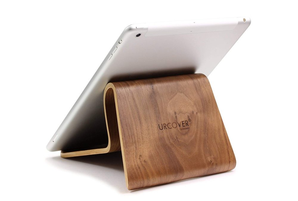 Tabletständer aus Walnuss oder Bambus
