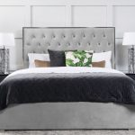 Lavinia Storage Bed Platinum Grey