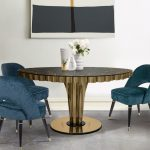 Collins Dining Chair & Wormley Dining Table